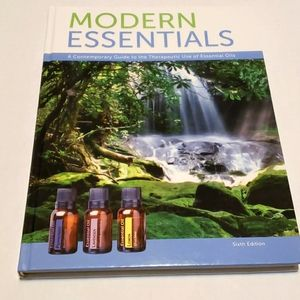 Book- modern essential oils